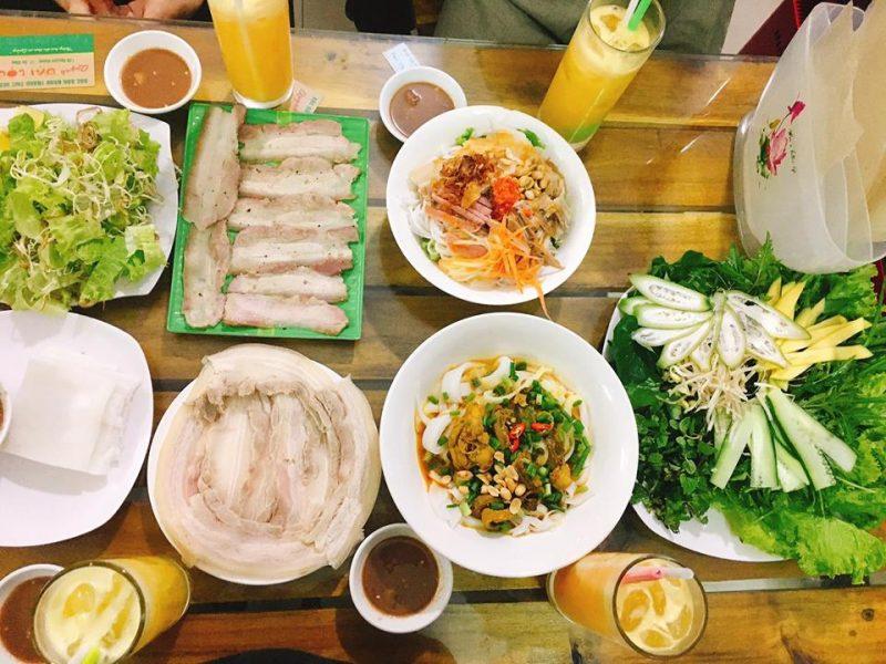 Bánh Tráng Cuốn thịt heo Đà Nẵng