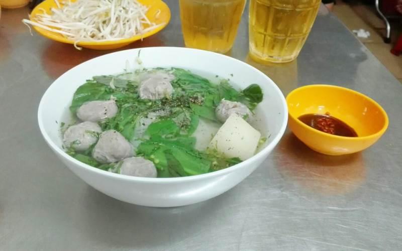 Hủ tiếu bò viên A Mẹt Mỹ Tho, Tiền Giang