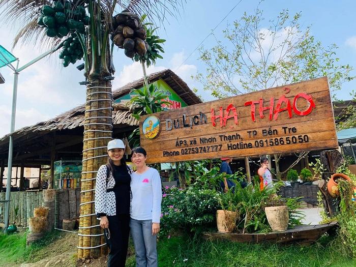 Khu du lịch Hạ Thảo Nhơn Thạnh Bến Tre