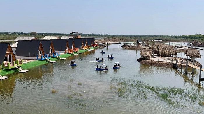 khu du lịch làng yến ở Tiền Giang