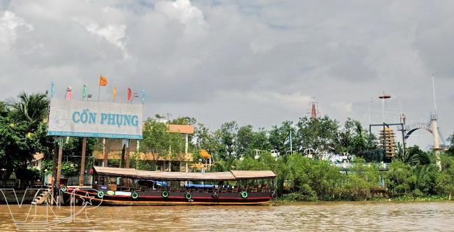 khu du lịch sinh thái cồn phụng